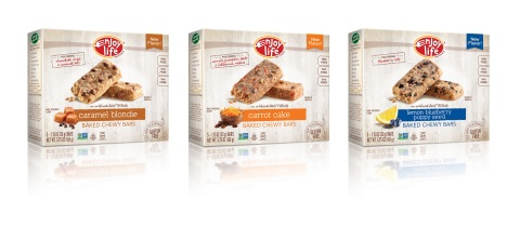 Enjoy Life Foods Baked Chew Bars (Photo: Business Wire)