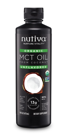 Nutiva Organic MCT Oil (Photo: Business Wire)