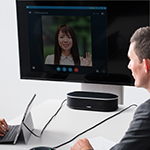 Yamaha's YVC-1000MS Unified Communications Speakerphone Certified for Skype for Business