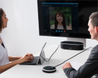 Web conference landscape by using YVC-1000MS (Photo: Business Wire)