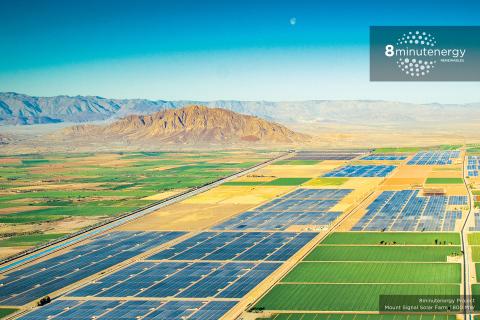 8minutenergy   Mount Signal Solar Farm   800 MW (Photo: Business Wire)