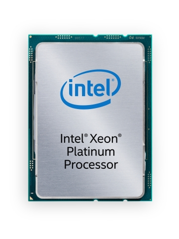 Intel Xeon Scalable processors are optimized for today's evolving data center and network infrastructure requirements. The scalable processor family provides businesses with breakthrough performance to handle system demands ranging from entry-cloud servers to compute-hungry tasks including real-time analytics, virtualized infrastructure and high-performance computing. (Credit: Intel Corporation)
