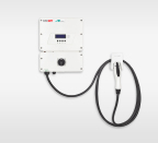 SolarEdge Inverter-Integrated EV Charger (Photo: Business Wire)