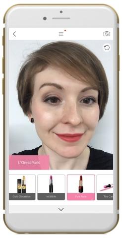 L'Oréal se junta à YouCam Makeup, Perfect Corp.'s App de maquiagem virtual