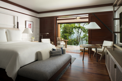 Four Seasons Resort Costa Rica's Standard King Bedroom (Photo Credit: Don Riddle)