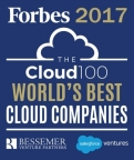 Fuze is Named to Forbes 2017 World's Best 100 Cloud Companies List for Second Consecutive Year (Photo: Forbes)