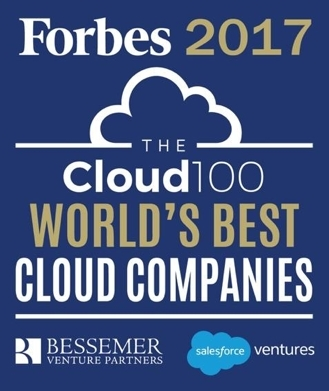 Sisense is Named to Annual Forbes 2017 Cloud 100 List for the Second Consecutive Year (Photo: Business Wire)