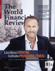 Dr. Andy Khawaja of Allied Wallet on the cover of World Financial Review - July/August 2017. (Graphic: Business Wire)
