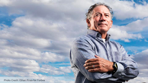 Tom Siebel, C3 IoT CEO, in Forbes July 2017. (Photo: Ethan Pines for Forbes)