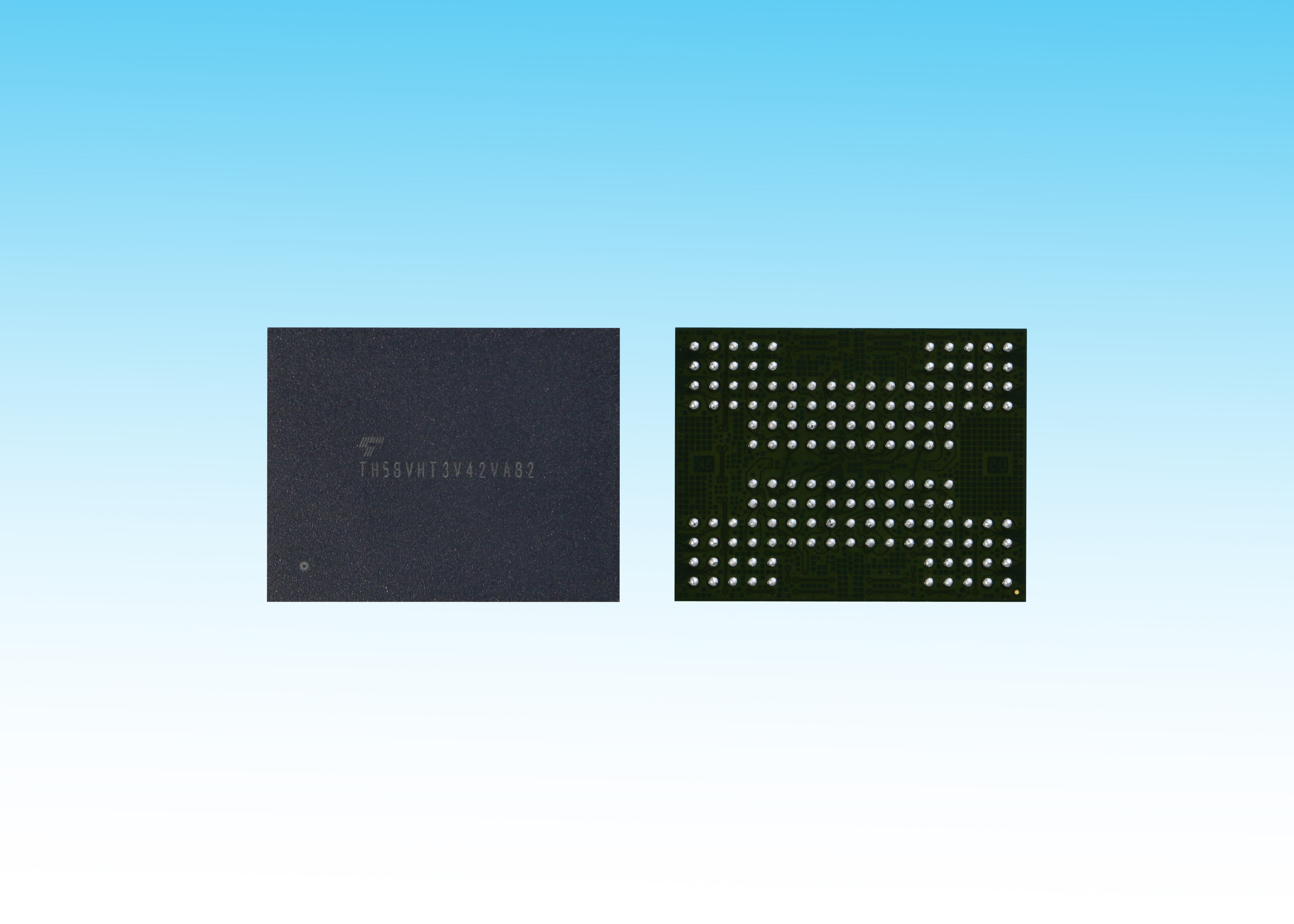 The World's First 3D Flash Memory with TSV Technology (Photo: Business Wire)