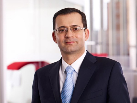 Anshooman Aga, Executive Vice President of Cubic Corporation (Photo: Business Wire)