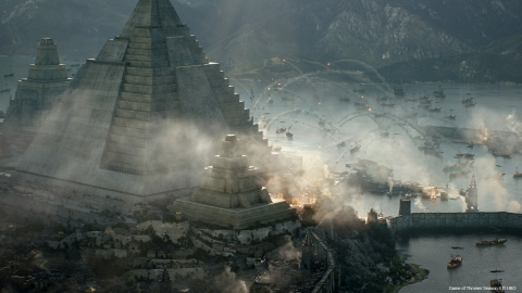 """""""Game of Thrones: Building and Destroying Meereen"""" © 2017 Rodeo FX"""