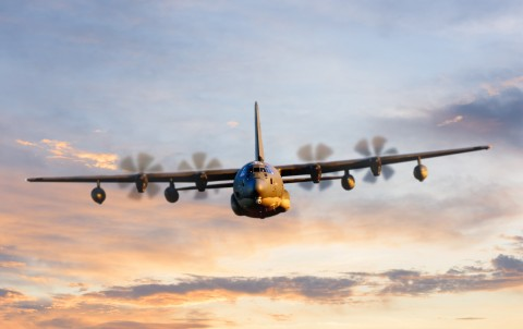 The U.S. Special Operations Command has chosen BAE Systems to provide new electronic warfare systems for C-130 aircraft. (Photo: BAE Systems)