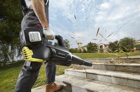 GForce Garden Tools driven by Active-Semi Inc brushless DC motor controller (Photo: Business Wire)