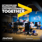 Laser focused on creating the best customer experiences for clients: Accenture Interactive bolsters its experience optimization and personalization services with the acquisition of Clearhead (Photo: Business Wire)