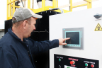 Global Re-Fuel's patented PLF-500 warm-air biomass furnace converts raw poultry litter to energy. (Photo: Business Wire)
