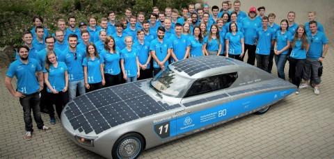 Axalta Supports German Student Racing Team's World Solar Challenge Entry (Photo: Axalta)