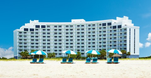 The Island House Hotel Orange Beach - a DoubleTree by Hilton exterior (Photo: Business Wire)
