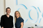 Box CEO, Aaron Levie and new Box COO, Stephanie Carullo (Photo: Business Wire)