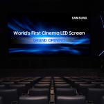 Samsung Debuts World's First Cinema LED Display