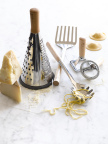 Giada collaborated with Williams Sonoma to design the ideal pasta tools for preparing and serving pasta meals. Prices range from $19.95-24.95. (Photo: Business Wire)