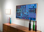 Samsung's The Frame on display in Sotheby's Contemporary Living exhibition in New York City. (Photo: Business Wire)