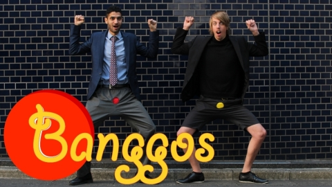 Banggos, the Electric Sexy Drum Pants (Graphic: Business Wire)