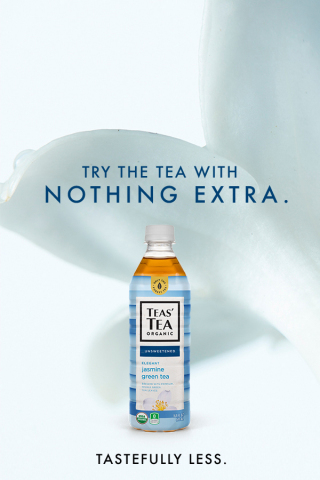 """TEAS' TEA Organic Launches """"Tastefully Less"""" National Media Campaign (Photo: Business Wire)"""