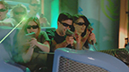 Six Flags Magic Mountain's new JUSTICE LEAGUE: Battle for Metropolis attraction