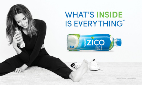 """""""In my own life, I've learned the power and importance of staying true to who you are,"""" said ZICO Brand Ambassador, Jessica Alba. """"Some of my greatest successes have come from following my own 'inner voice' and pursuing my dreams despite the naysayers, which is why ZICO's 'What's Inside is Everything' campaign message resonated with me in such a big way. I'm thrilled to continue encouraging others to embrace this message."""" (Photo: Business Wire)"""
