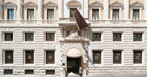 Exterior - Aleph Rome Hotel, Curio Collection by Hilton (Photo: Business Wire)