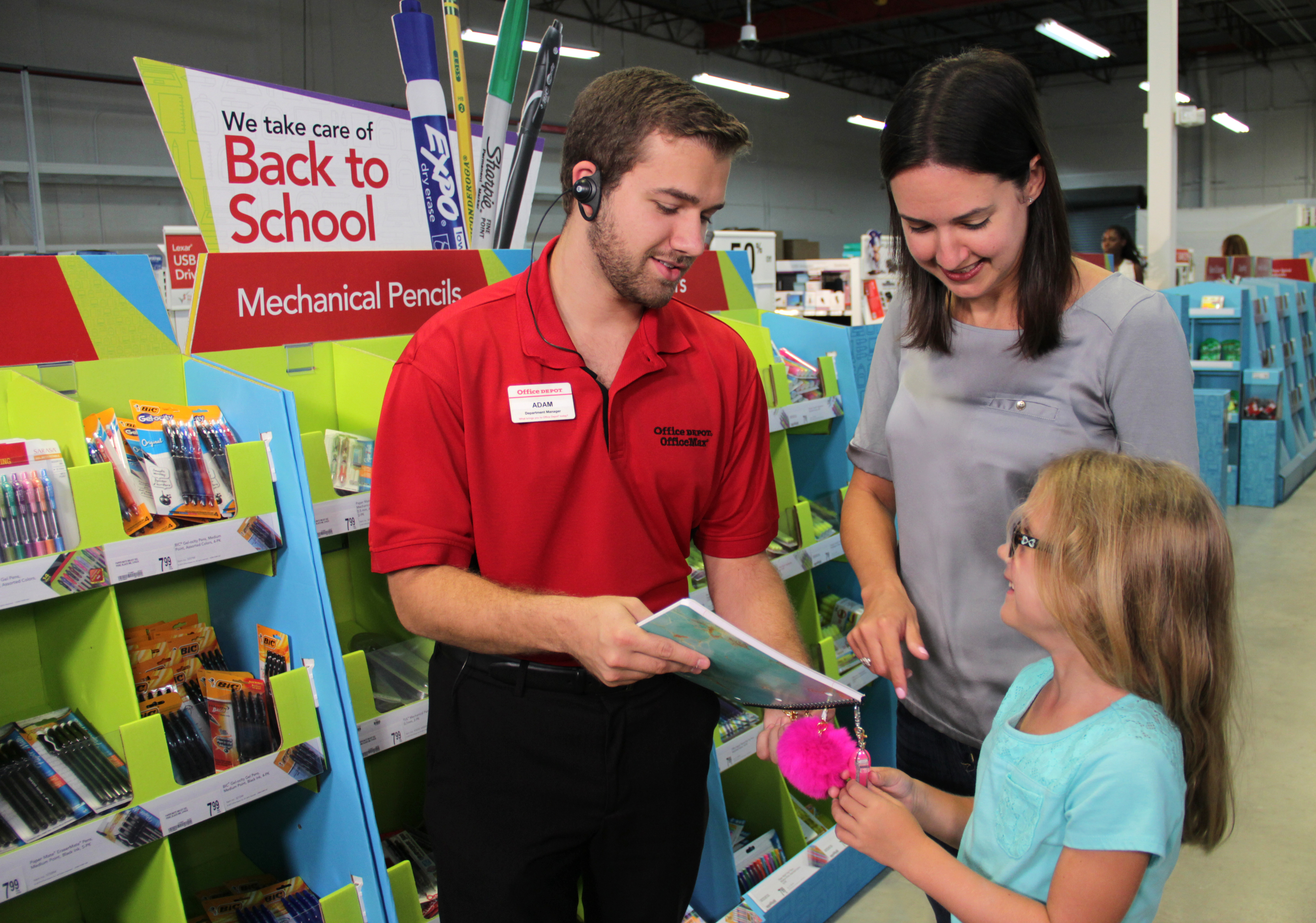fice Depot Inc Helps Parents Students and Teachers Take Care