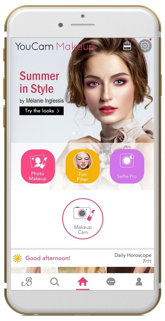 YouCam Makeup & Celebrity Makeup Artist Mélanie Inglessis Collaborate to Bring Summer Beauty to Life (Graphic: Business Wire)