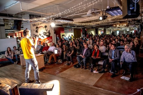 1776 brings together entrepreneurs, change-makers and industry leaders for an event. (Photo: Busines ...