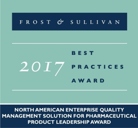 Pilgrim Quality Solutions receives 2017 Pharmaceutical Product Leadership Award (Graphic: Business W ...