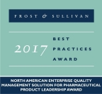 Pilgrim Quality Solutions receives 2017 Pharmaceutical Product Leadership Award (Graphic: Business Wire)