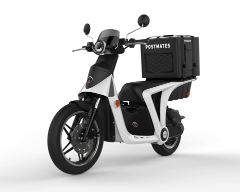 Postmates is launching a fleet of customized GenZe 2.0e electric scooters for delivery services in N ...
