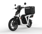 Postmates is launching a fleet of customized GenZe 2.0e electric scooters for delivery services in NYC and San Francisco. (Photo: Business Wire)