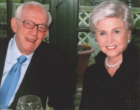 Dr. Raymond Sackler and Beverly Sackler. (Photo: Business Wire)