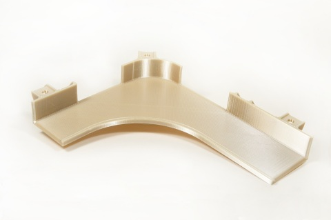 Additive manufacturing takes flight with 3D printed bracketing for the Airbus A350, manufactured by Stratasys Direct Manufacturing with FDM Technology and ULTEM™ 9085 resin. (Photo: Business Wire)
