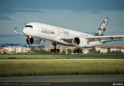Additive manufacturing takes flight with 3D printed bracketing for the Airbus A350, manufactured by  ...