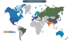 2017 Global Retirement Index Heat Map (Graphic: Business Wire)