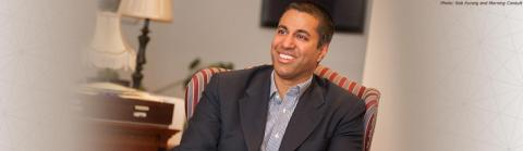 Ajit Pai, Chairman, United States Federal Communications Commission (Photo: Business Wire)