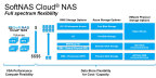 SoftNAS Cloud® NAS enables customers the flexibility to choose among various compute and backend storage options and select the ideal balance between cost and performance. (Graphic: Business Wire)
