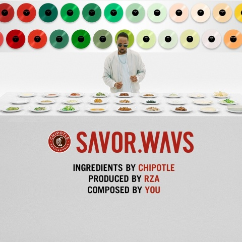 Chipotle and RZA launch SAVOR.WAVS, an immersive musical and visual journey into Chipotle's 51 real ingredients (Photo: Business Wire)