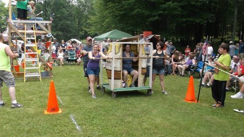 Perkinstown Outhouse Challenge Photo Courtesy of Perkinstown Outhouse Challenge
