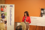 Wisconsin Lt. Gov. Rebecca Kleefisch joins UnitedHealthcare to announce $100,000 in grants to organizations improving health and independence of Wisconsinites with disabilities (Photo: John-Paul Greco).