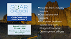 Oregon UAS Summit & Expo. Bend, Oregon August 10, 2017