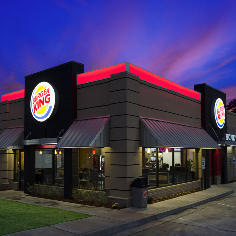 Lektron LED Technologies' red light band illuminates 5,000 Burger King restaurants across North America. (Photo: Business Wire)