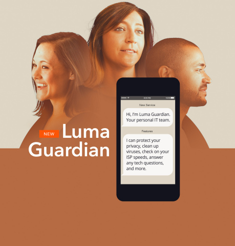 Luma Guardian, a personal IT team at your fingertips (Graphic: Business Wire)